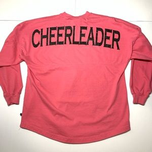 Cheerleader Spirt Jersey Womens Small Pink